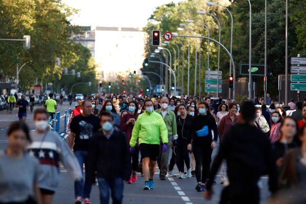 Calle Menéndez Pelayo en