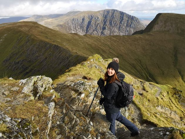 Charlotte Hunt, pictured here in Snowdonia National