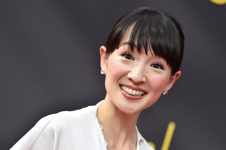 Marie Kondo, en los Creative Arts Emmy Awards de 2019.