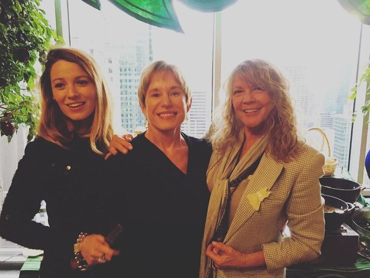 Ryan Reynolds posted this photo of his wife Blake Lively, left, with his mother, Tammy Reynolds, centre, and her mother, Elaine Lively, right, for Mother's Day.
