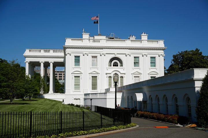 This May 10, 2020 photo shows the White House in Washington. (AP Photo/Patrick Semansky)