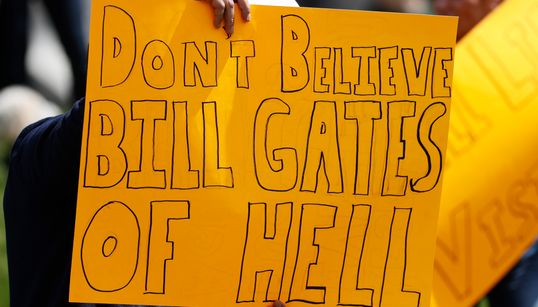 The Bill Gates Population Control Conspiracy Theories Have A Long, Bizarre