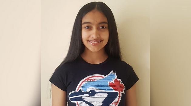 Kareena Persaud, 13, keeps on top of her school work from home, but misses asking questions in class...