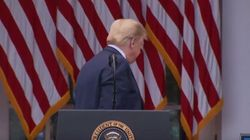Trump Storms Out Of Coronavirus Briefing After Female Reporters Challenge