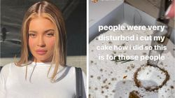 Kylie Jenner's Cake Cutting Skills 'Disturbed' People, So She Got