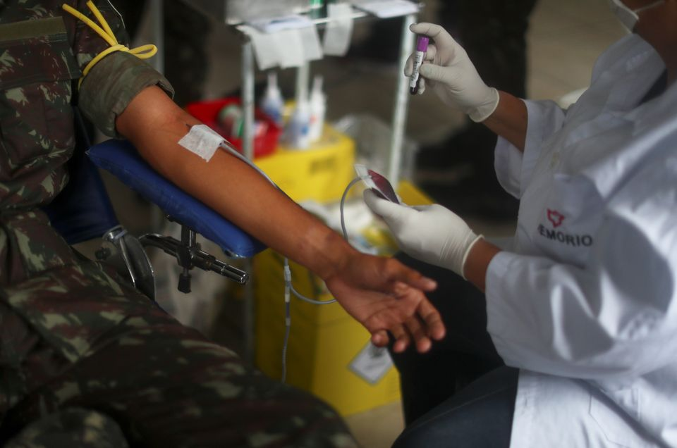 Caso haja algum impedimento no momento da doação de sangue por homens que fazem sexo com...