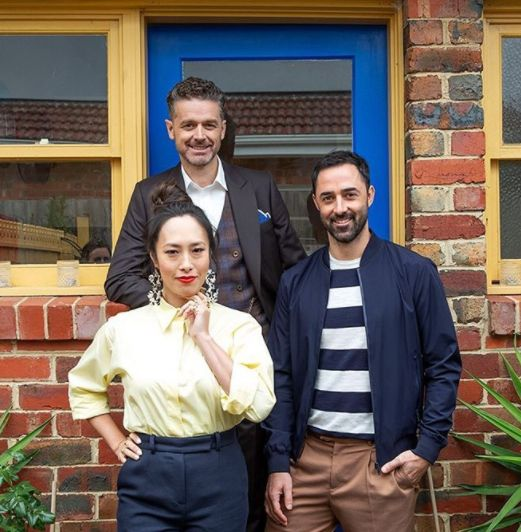'MasterChef Australia: Back To Win' judges Melissa Leong, Jock Zonfrillo and Andy