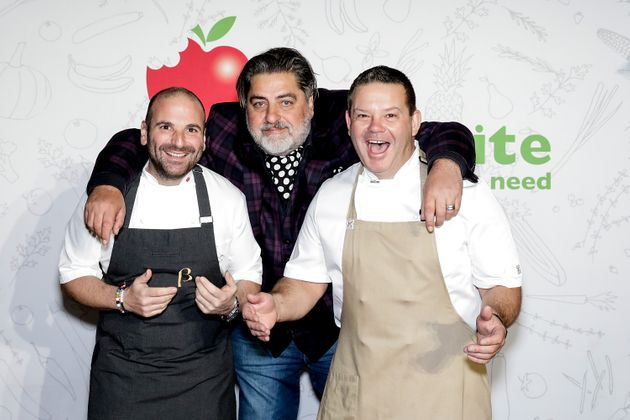 Previous 'MasterChef' judges George Calombaris, Matt Preston and Gary