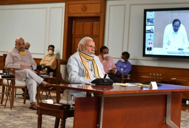 Modi meeting with chief