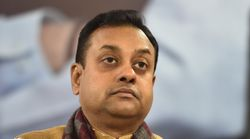BJP's Sambit Patra Slapped With FIR For Tweets Against Nehru, Rajiv
