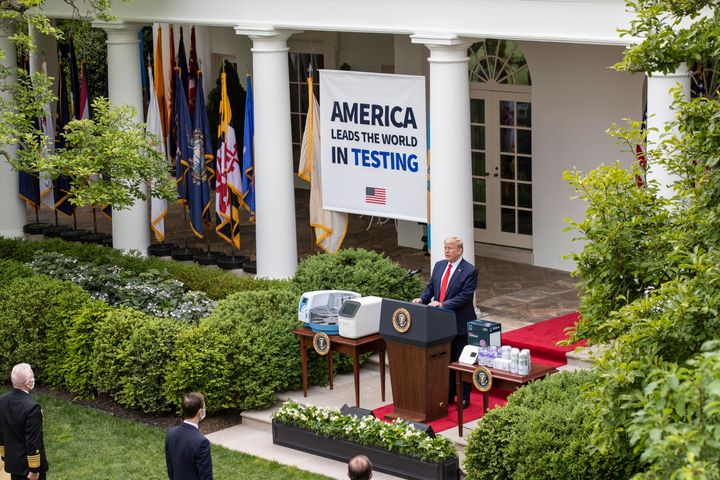 The U.S. has conducted more tests than any other country, but many other countries have administered more tests per capita.&n