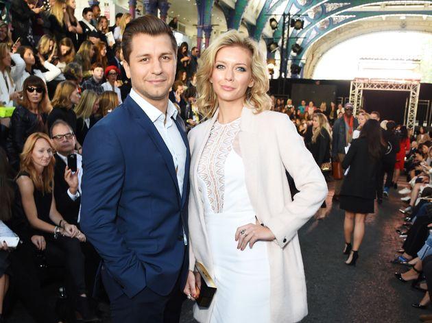 Rachel with her husband Pasha