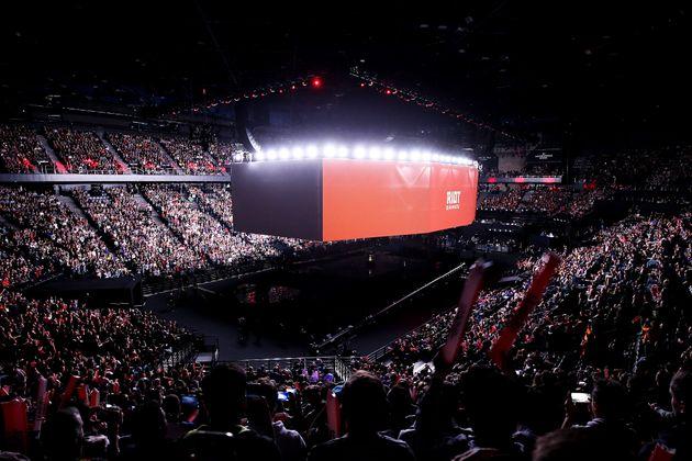 Dans un AccorHotels Arena à huis clos, l'idée sera d'organiser une soirée...