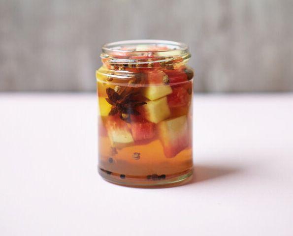 Freddie Janssen's Szechuan Pickled Watermelon