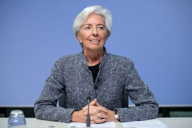 Christine Lagarde, presidenta del Banco Central