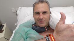 Javier Ortega Smith, hospitalizado con