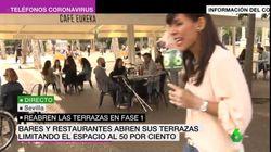 Una reportera de La Sexta denuncia lo que sufrió tras las cámaras en esta