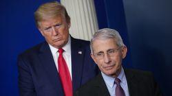 Le conseiller santé de Trump met en garde contre un déconfinement trop