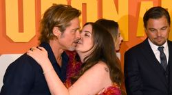 Lena Dunham Would Like To Explain That 'Awkward' Brad Pitt Kissing