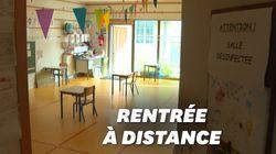 Pour faire respecter la distance physique entre élèves, voici comment les écoles se sont
