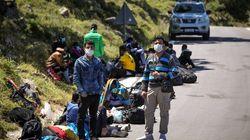 Λέσβος: Δύο κρούσματα κορονοϊού στην πρόχειρη δομή μεταναστών στα Μεγάλα