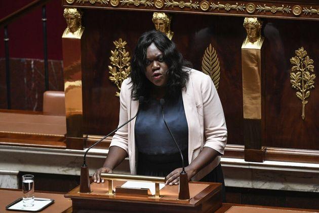 La députée LREM Laetitia Avia, ici le 3 juillet 2019 à l'Assemblée, porte plainte pour diffamation après...