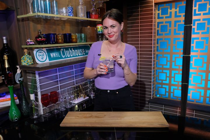 "Alison Roman on ""Watch What Happens Live."""
