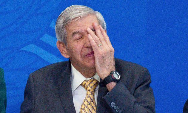 Augusto Heleno afirmou, em depoimento, que o presidente, na reunião, ao fazer menção...