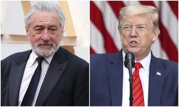 Robert De Niro Calls Trump A 'Lunatic' Who 'Doesn't Care' How Many ...