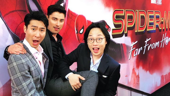'Crazy Rich Asians' stars Chris Pang, Remy Hii and Jimmy O. Yang