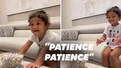La fille de Kylie Jenner qui patiente avant d'avoir un bonbon va vous faire