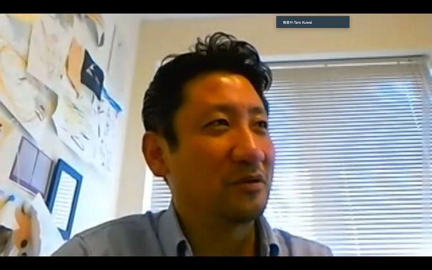 新型コロナウイルスの影響で、経営面での「医療崩壊」の実態を訴える桑井太郎医師