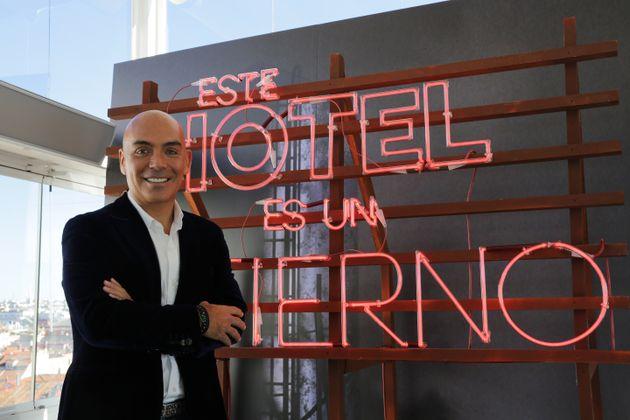 El empresario Kike Sarasola presentó el programa de televisión 'Este hotel es un infierno'...