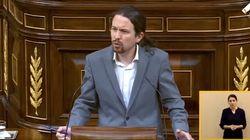 Pablo Iglesias afea este gesto de una diputada de Vox: