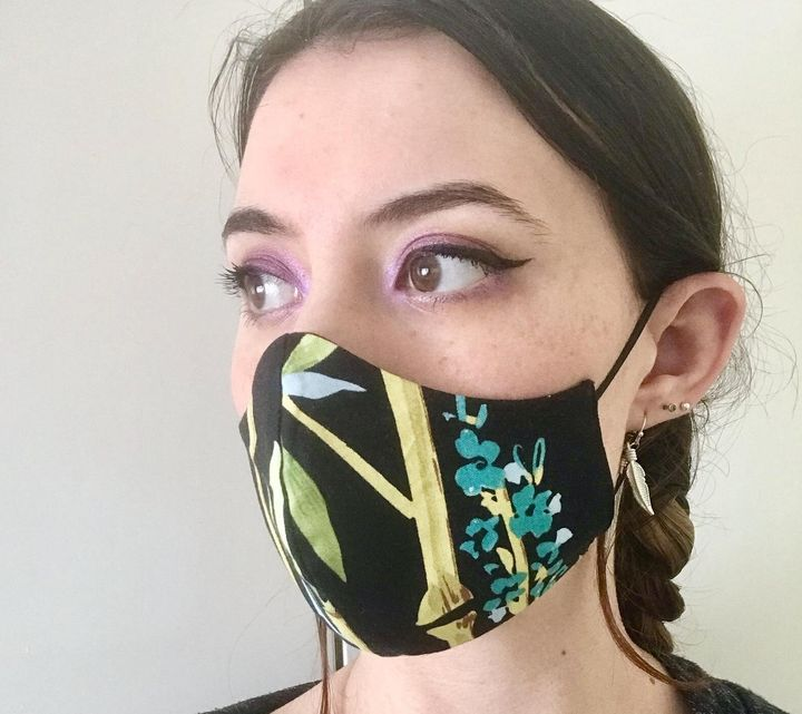 Face covers on Etsy