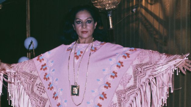 Lola Flores, en