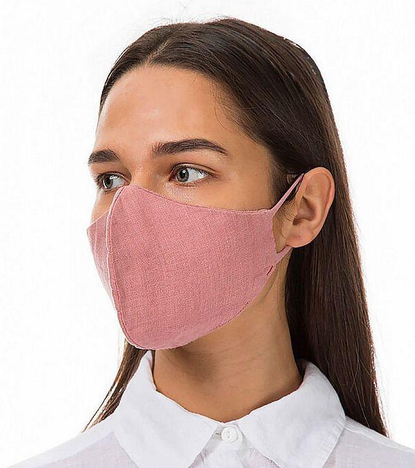 Linen face cover