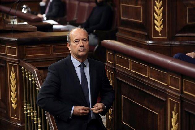 El Ministro de Justicia, Juan Carlos