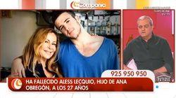Ramón García rompe a llorar al mandar un mensaje a Ana Obregón tras la muerte de su