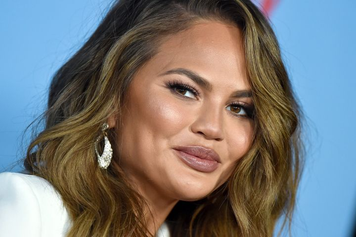 "Chrissy Teigen at the premiere of Netflix's ""Between Two Ferns: The Movie"" in 2019."