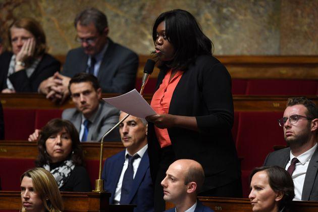 Laetitia Avia à l'Assemblée nationale en 2017