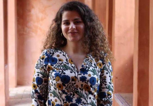 Yasmin Mahmoudi, an organiser at Charity So