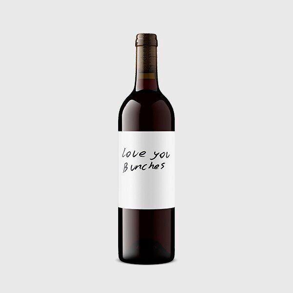 "Stolpman Vineyards in Santa Barbara, California, turns Sangiovese grapes, the backbone of high-end and serious Brunello wines, into a fresh and fun bottle called ""Love You Bunches."""