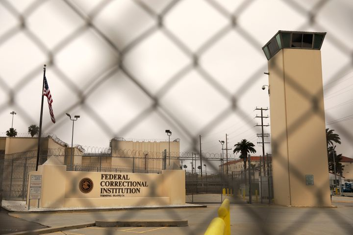 The Terminal Island federal prison in San Pedro, California, was hit hard by the coronavirus pandemic.