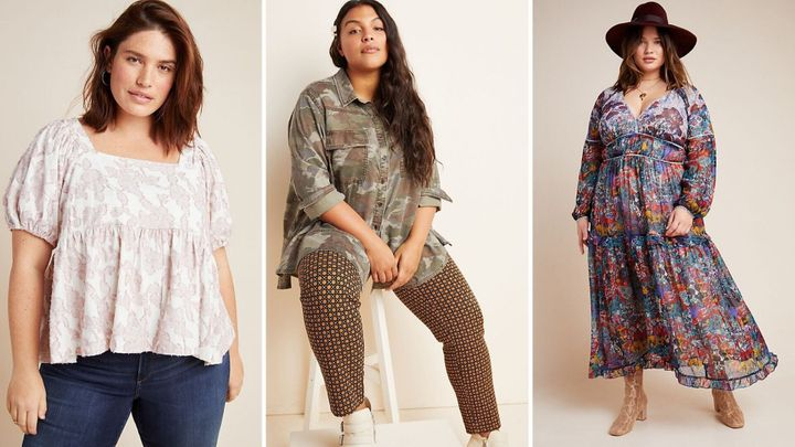 All the best plus-size clothes on sale at Anthro right now.