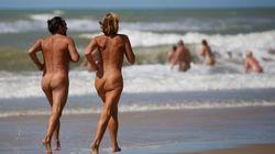 O impacto do coronavírus sobre o maior campo de nudistas da