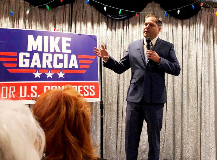Republican Mike Garcia flipped the congressional seat vacated by former Rep. Katie Hill (D-Calif.)