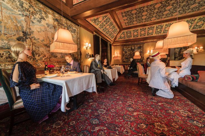 The Inn at Little Washington in Virginia plans to install mannequins at empty tables in its dining room when it reopens May 2