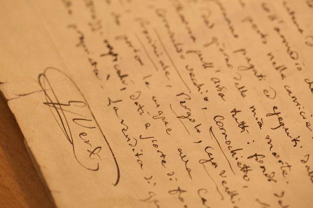 Il Testamento di Giuseppe Verdi. Mostra