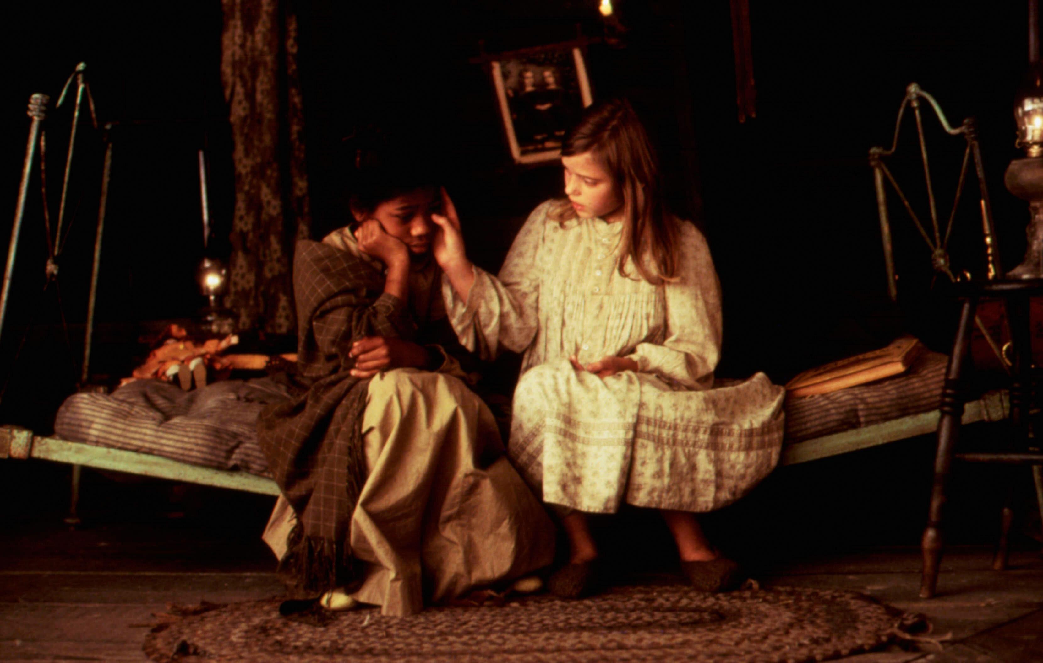 "Vanessa Lee Chester and Liesel Matthews in ""A Little Princess."""